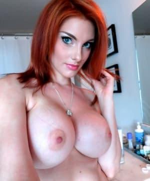Porn ariel redhead