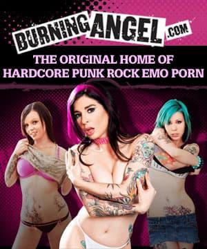 Burning angel goth sluts